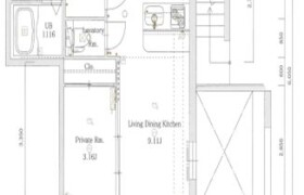 福岡市中央區長浜-1LDK{building type}
