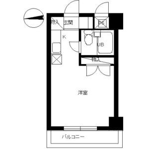 1K Mansion in Setogayacho - Yokohama-shi Hodogaya-ku Floorplan