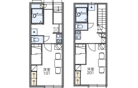 1K Apartment in Nakaochiai - Shinjuku-ku