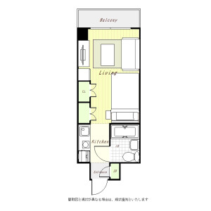 1R Mansion in Hashimoto - Sagamihara-shi Midori-ku Floorplan