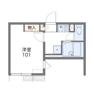 1K Apartment in Maginu - Kawasaki-shi Miyamae-ku Floorplan