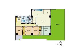 4LDK Apartment in Hirao - Fukuoka-shi Chuo-ku