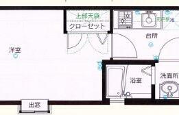 1K {building type} in Kamikawabatamachi - Fukuoka-shi Hakata-ku