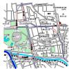 1K Apartment to Rent in Bunkyo-ku Map