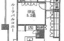 1LDK Apartment in Shiroganecho - Shinjuku-ku