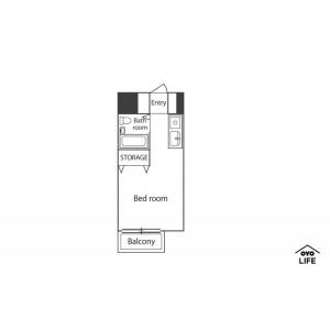 1R Mansion in Daimoncho - Saitama-shi Omiya-ku Floorplan