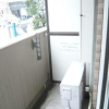 1K Apartment to Rent in Shinjuku-ku Balcony / Veranda