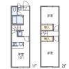 2DK Apartment to Rent in Kokubunji-shi Floorplan