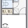 1K Apartment to Rent in Nishinomiya-shi Floorplan