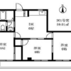 3DK Apartment to Rent in Setagaya-ku Floorplan