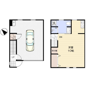 1K Mansion in Hanahata - Adachi-ku Floorplan