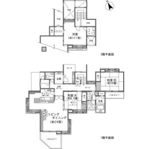 3SLDK {building type} in Miyagino - Ashigarashimo-gun Hakone-machi Floorplan