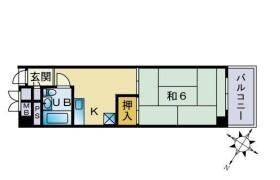 1DK Apartment in Maizuru - Fukuoka-shi Chuo-ku