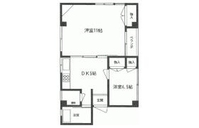 2DK {building type} in Sendagaya - Shibuya-ku