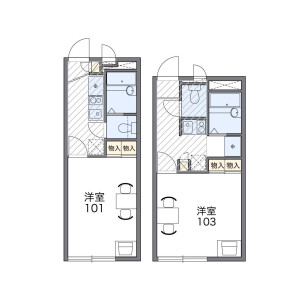 1K Apartment in Nerima - Nerima-ku Floorplan