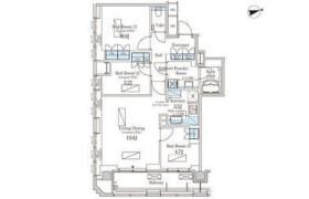 3LDK Apartment in Nishishimbashi - Minato-ku