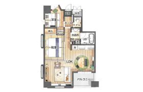 2LDK Mansion in Bentendori - Yokohama-shi Naka-ku