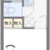 1K Apartment to Rent in Saitama-shi Omiya-ku Floorplan