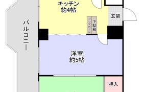 2DK {building type} in Sumiyoshi - Fukuoka-shi Hakata-ku