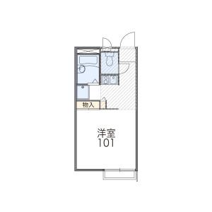 1K Apartment in Utasatocho - Nagoya-shi Nishi-ku Floorplan