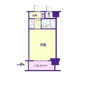 1R {building type} in Taito - Taito-ku Floorplan
