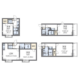1LDK Mansion in Minaminagasaki - Toshima-ku Floorplan