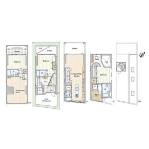 2SLDK House in Jingumae - Shibuya-ku Floorplan