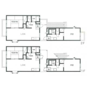 Whole Building {building type} in Kakemama - Ichikawa-shi Floorplan