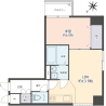 1LDK Apartment to Buy in Kobe-shi Chuo-ku Floorplan