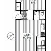 1LDK Apartment to Rent in Komae-shi Floorplan