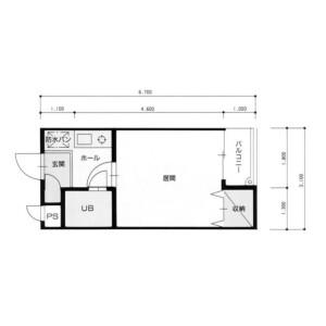 1K Mansion in Ikebukurohoncho - Toshima-ku Floorplan