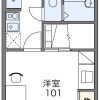 1K Apartment to Rent in Daito-shi Floorplan