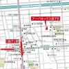 1LDK Apartment to Rent in Sumida-ku Map