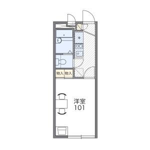 1K Mansion in Jogawaracho - Akishima-shi Floorplan