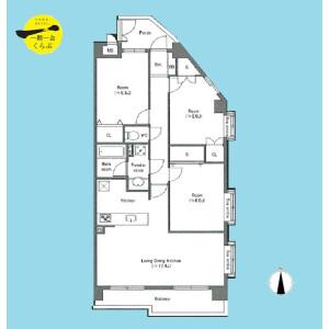 3LDK {building type} in Tatenocho - Nerima-ku Floorplan