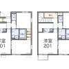 2LDK Apartment to Rent in Kita-ku Floorplan