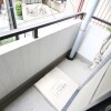 1R Apartment to Rent in Ota-ku Balcony / Veranda