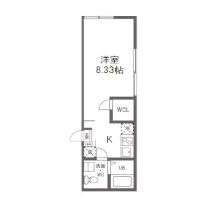 1K Mansion in Tomihisacho - Shinjuku-ku Floorplan
