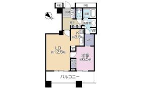 港区芝浦(2〜4丁目)-1LDK公寓大厦