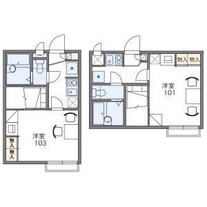 1K Apartment in Asagayaminami - Suginami-ku Floorplan