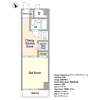 1DK Apartment to Buy in Shinagawa-ku Floorplan
