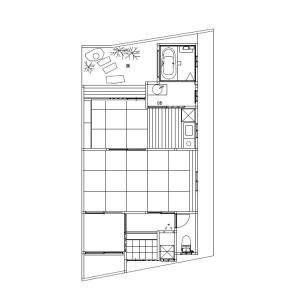 1SLDK {building type} in Imagumano ikedacho - Kyoto-shi Higashiyama-ku Floorplan