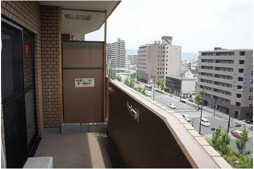 2LDK Apartment to Buy in Kyoto-shi Shimogyo-ku Balcony / Veranda