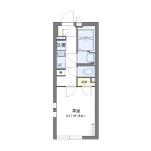 1K Mansion in Saginomiya - Nakano-ku Floorplan