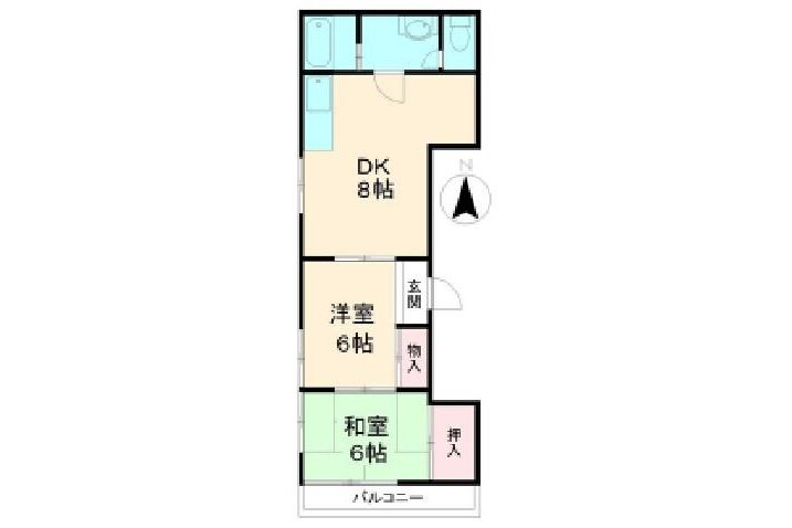 2DK Apartment to Rent in Koto-ku Exterior