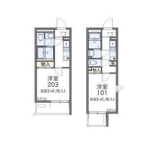 1K Mansion in Chuohoncho(1.2-chome) - Adachi-ku Floorplan