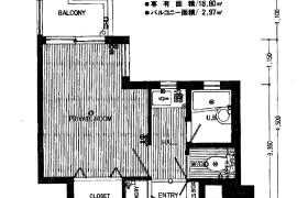 福岡市博多區大博町-1K{building type}