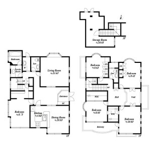 5LDK House in Kaminoge - Setagaya-ku Floorplan