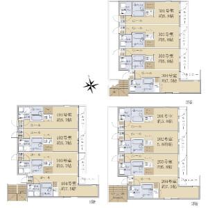 Whole Building {building type} in Oda - Kawasaki-shi Kawasaki-ku Floorplan