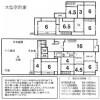 在京都市下京區購買10K 獨棟住宅的房產 房間格局